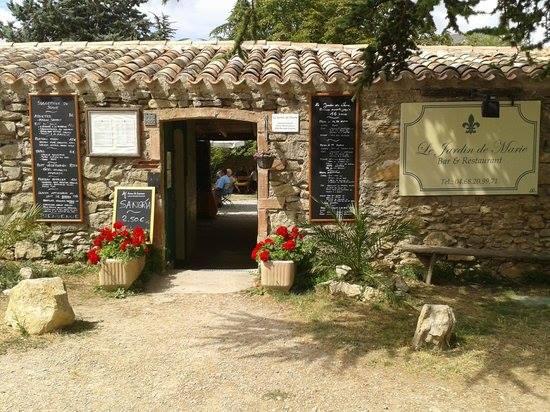 Le jardin de Marie, restaurant in Rennes le château