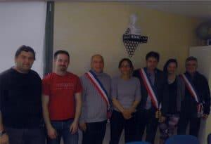 équipe municipale de la mairie de Rennes le château